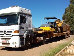 Prancha Para Transporte De Máquinas Pesadas