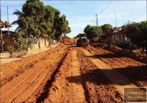 TERRAPLANAGEM Prefeitura Arinos MG